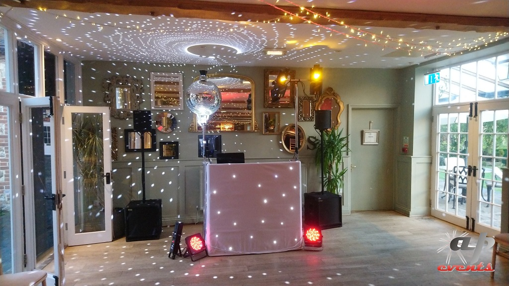 Wedding DJ at the Secret Garden in Ashford, Kent