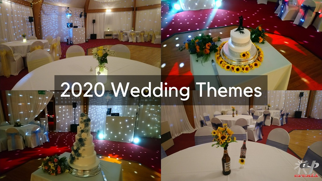 Wedding themes from 2020