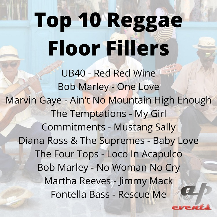 Top 10 reggae floor fillers