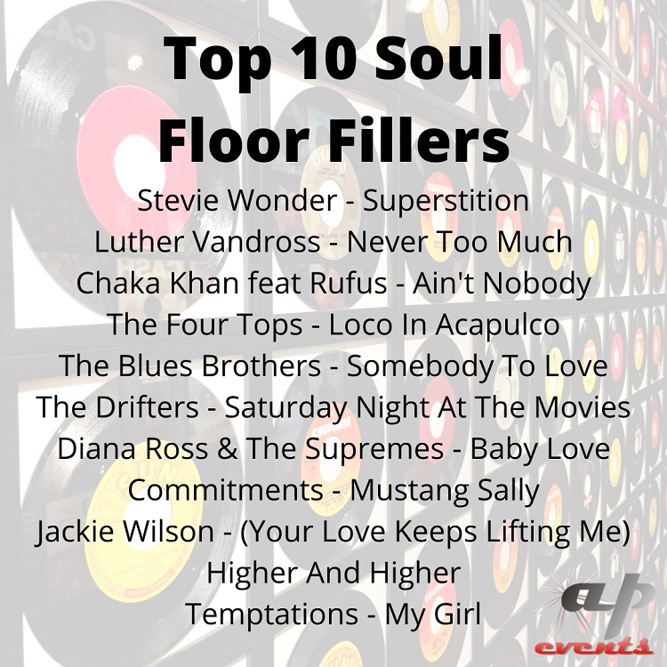 Top 10 soul floor fillers