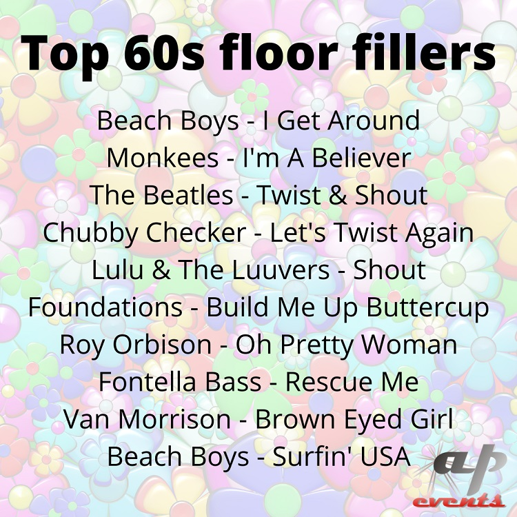 Top 10 60s floor fillers