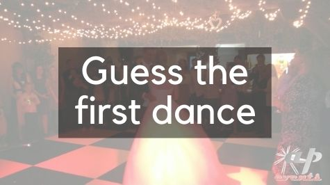 Guess the first dance