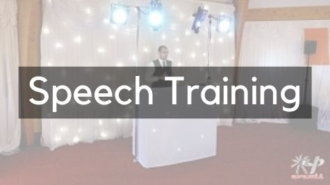 Wedding Speech Training