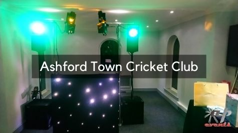 Party DJ at Ashford Town Cricket Club