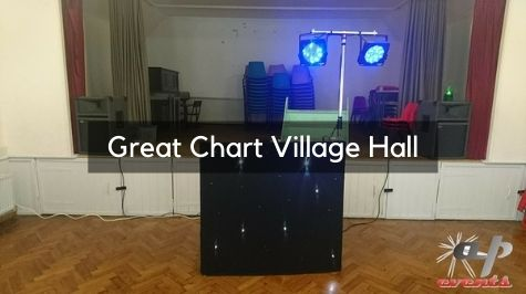 Party DJ at Great Chart Village Hall