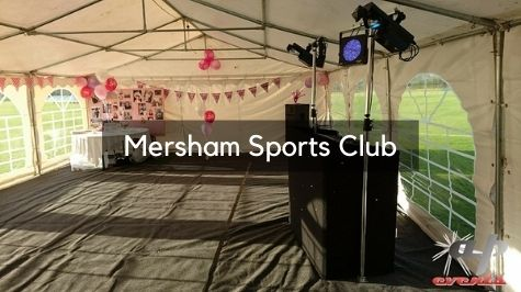 Party DJ at Mersham Sports Club